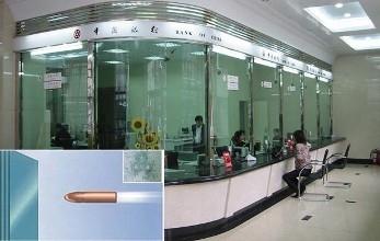银行防弹玻璃多厚